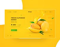 Mango UI design concept 🥭🥭