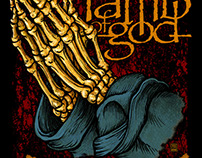 Lamb of God - Praying Hands T-shirt