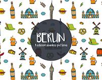 Berlin Vector Free Pattern