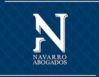 Navarro Abogados - Logo y Papelería