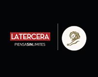 Radio La Tercera Newspaper / Bronze Cannes Lions 2012