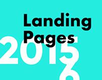 Langing page set 2015-16