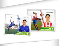 Álbum de cromos / Fútbol Barbastro 2015-2016