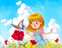 Illustrations for Colibro publishing