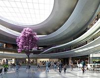mall hall design
