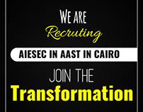 Aiesec AAST Recruitment