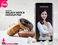 Samsung Note 9 Mockup Template