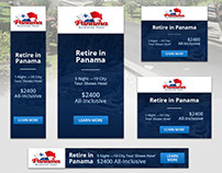 Panama Relocation Tours - Banner Ads