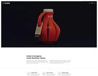 Cookie - Creative WordPress Theme by AgniHD