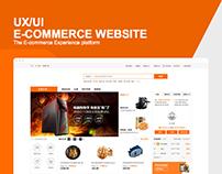 E-Commerce website - UX/UI Design