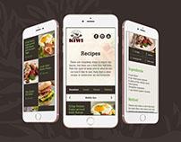 Kiwi Bacon Website Recipe Page