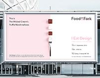 I Eat Design by Naiise - Food on Fork