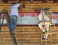 Log Home Finishing