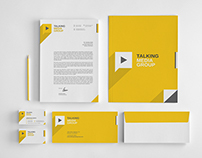 Flat Corporate Stationery