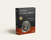 Corona material library for C4D - Pack 5