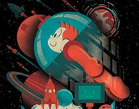 Astronauta - Comic Con 2017