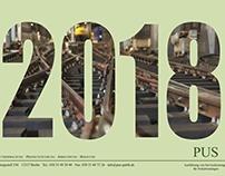 Kalender 2018 für die PUS GmbH