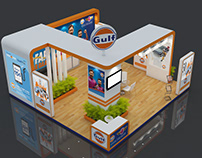 Gulf - Exhibition stall design and Execution