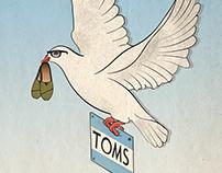 TOMS Social Brief Ad Campaign