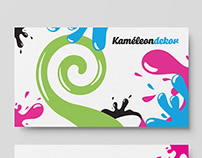 Branding for Kaméleon decoration company