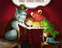 kinderbuch cover | von drachen, monstern und ungetieren