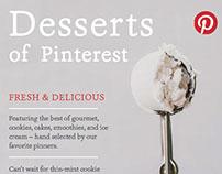 Desserts of Pinterest Magazine