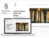 Webpage Project: SM Textil