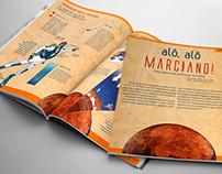 Infográfico | Alô, alô marciano!