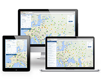 Дизайн интерфейса для Transinfo Maps