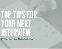 Top Tips For Your Next Interview