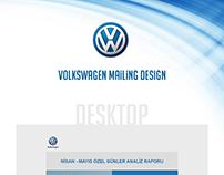 Volkswagen Responsive E-Mailing Design