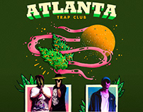 Atlanta Trap Club Flyer Design