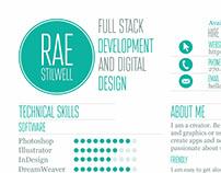 Rae Stilwell 2016 Branding