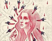 pen illustrations set #2