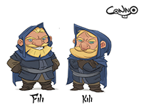 The hobbit pt 2- dwarfs