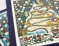 Новогодняя открытка | New Year greeting card 2013