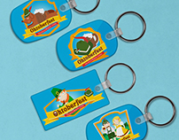 Illustrated Keychains
