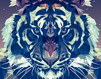 tigre poligono