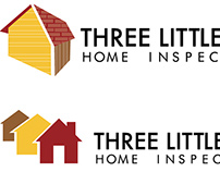 Logo Redesign for Three Little Pigs Home Inspection