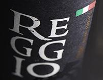 REGGIO wine label