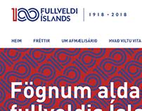 Fullveldi Íslands 1918 - 2018