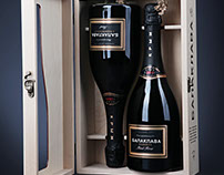 Gift Packaging for Balaklava Sparkling Wine