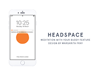 Headspace feature design: meditation with a buddy