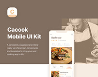 Cacook - Cooking UI Kit