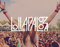 Identité Visuelle - Lollapalooza