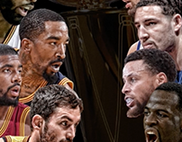 NBA Finals Game 5 Push Animation