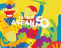 Parade ASEAN 50 2017 | Jakarta, Indonesia
