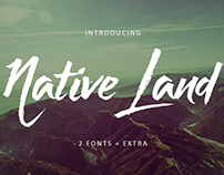 Native Land Typeface
