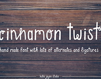 Cinnamon Twist Handdrawn Font