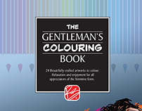 The Gentlemans' Colouring Book